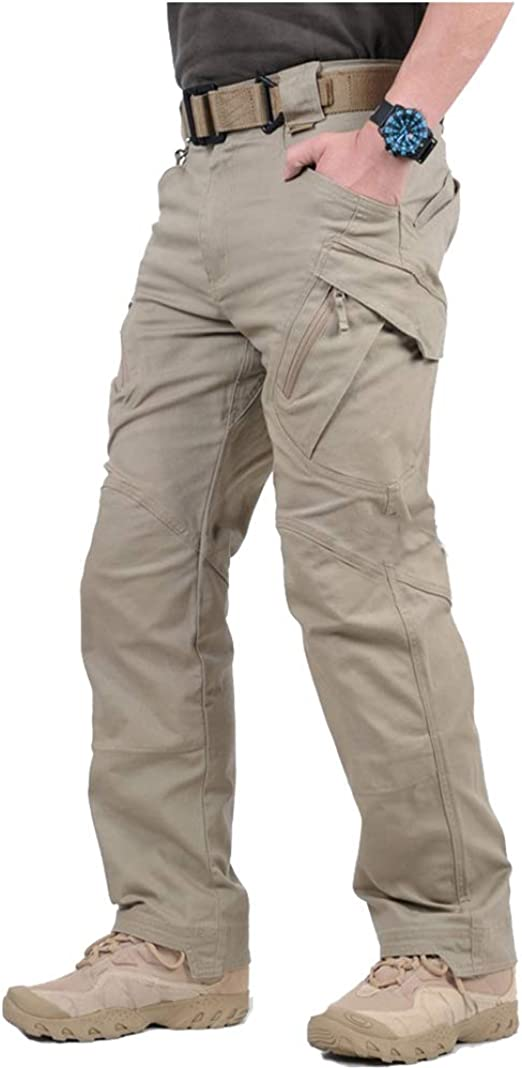 Mens Swat Trendy Cargo Overall Combat Tactical Outdoor Long Pants Trousers