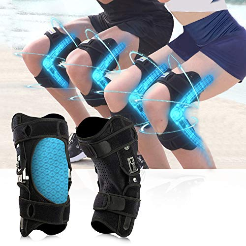 Upgraded Knee Booster Knee Brace Support Pad for Hiking, Running, Climbing Stairs, Gym Squats (Generation 2nd M)