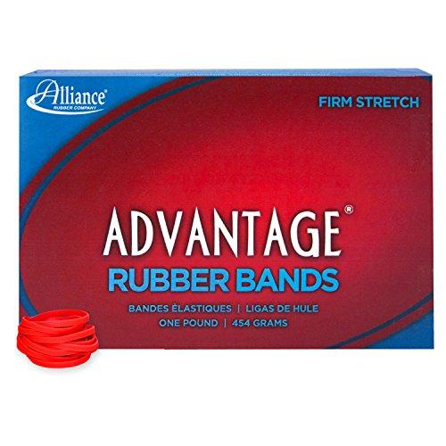 1 Lb Box Rubber Bands - Alliance Rubber 96305 Advantage Rubber Bands Size #30, 1 lb Box Contains Approx. 1150 Bands (2