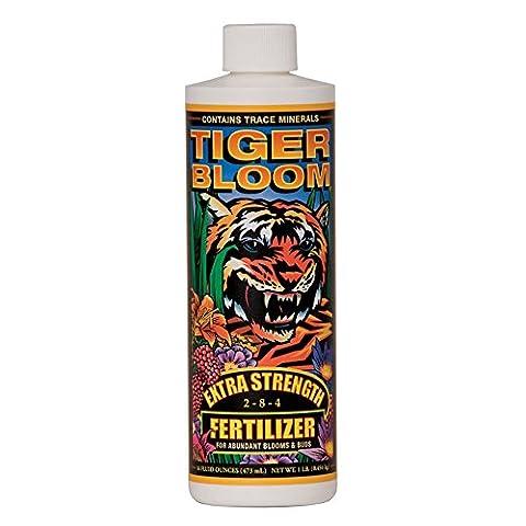 Fox Farm Tiger Bloom Liquid Concentrate Fertilizer, 1-Pint - Liquid Plant Food