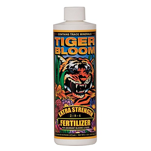 Fox Farm Tiger Bloom Liquid Concentrate Fertilizer, 1-Pint ()