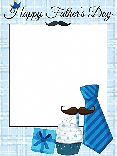 (Custom Fathers Day Special Photo Booth Prop - sizes 36x24, 48x36; Personalized Fathers day photo booth, Happy Fathers Day, Fathers Day Gift, Home Decorations, Handmade Party Supply Photo Booth Frame)
