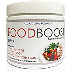 VH Nutrition FoodBoost Appetite Stimulant for Men and Women | Natural Weight Gain Pills - 30 Day Supply - 60 Capsules