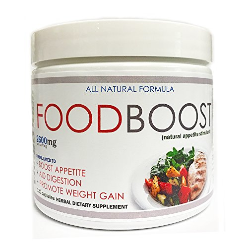 VH Nutrition FoodBoost Appetite Stimulant for Men and Women | Natural Weight Gain Pills - 30 Day Supply - 120 ()