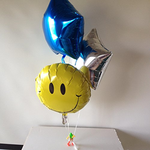 Happy Balloon Bouquet ~ INFLATED Balloon Bouquet ~ Balloons With Air ~ Get Well Gift ~ Soldier Gift ~ Cancer Gift ~ Dancing Robot