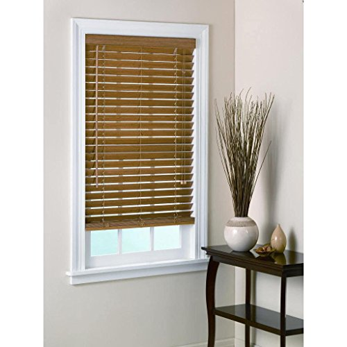 All Strong, USA Bamboo Blind 2-inch Slats in Pecan 30-39 Inches 72 Inches 39 x 72 -