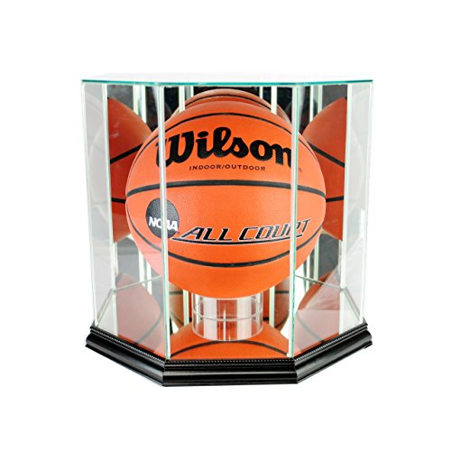 Perfect Cases NBA Octagon Basketball Glass Display Case, ()
