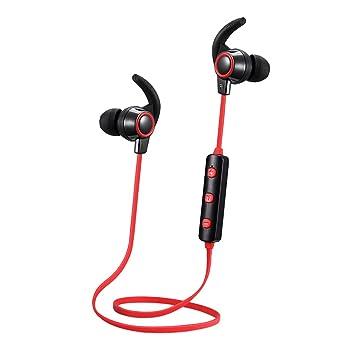 MagiDeal Auriculares Intra-Auriculares Inalámbricos Deportivos Bluetooth con Micrófono para Móviles Multiusos: Amazon.es: Electrónica