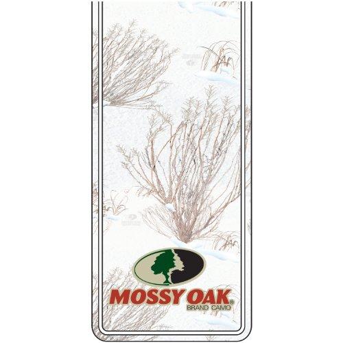(Mossy Oak Graphics 12103-WB Winter Oak Brush Mossy Oak Logo Rally Stripe Package)