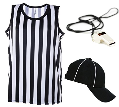 Mato & Hash Referee Tank Top for Men | Referee Uniform Top for Waiters, Costumes, More! - Ref Set CA2250 M CA2099 V S/M RW1000]()
