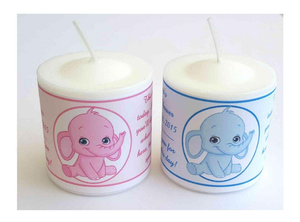 Amazon 14 Pink Elephant Or Blue Elephant Baby Shower Favors