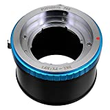 Fotodiox Pro Lens Mount Adapter with Aperture Control Ring - Kodak Retina Rangefinder and Retina Reflex Lenses (Retina Reflex S, II, IV, Instamatic Reflex, and Retina IIIS) to Fujifilm X-Series; fits X-Mount Camera Bodies such as X-Pro1, X-E1, X-M1, X-A1