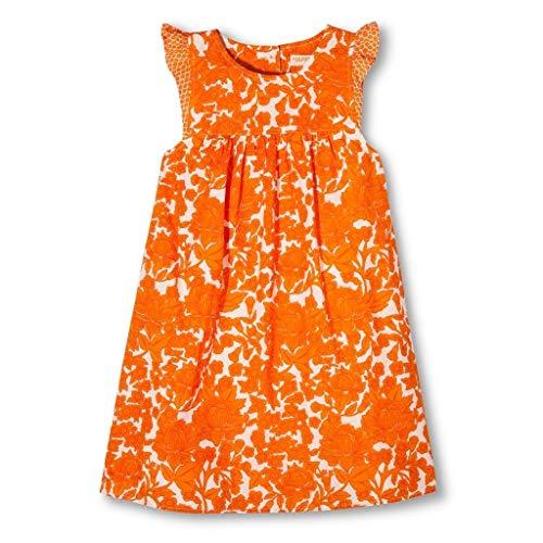 Pink Chicken Happy Orange Floral Dress Girls' Size 5Y