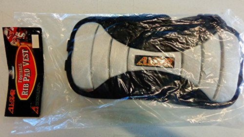 Football Low Profile Adjustable Rib Protector Vest with Polyethylene Inserts (Junior)