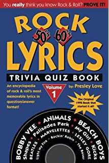 The worlds hardest music trivia rock n roll history fun facts and 001 rock lyrics trivia quiz book 50s 60s 70s rock lyrics fandeluxe Gallery