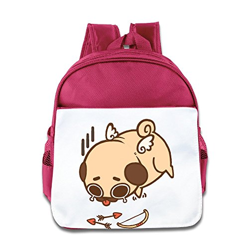 XJBD Custom Cool Cute Cupid Pug Dog Kids Children School Bag For 1-6 Years Old - Childs Amy Sunglasses
