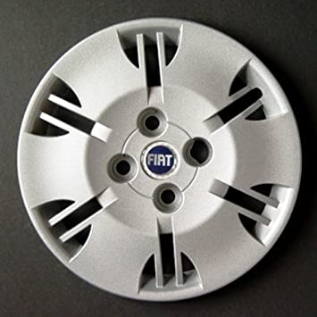 Wheeltrims Set de 4 embellecedores Fiat Panda 2000-2012 con Llantas Originales de 13