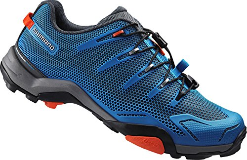 Shimano Scarpe Da Ciclismo Per Adulti Mtb Sh-mt44b Gr. 37 Spd Darling Speed ​​lacing, Multicolor, 37, Esmert44g370bj