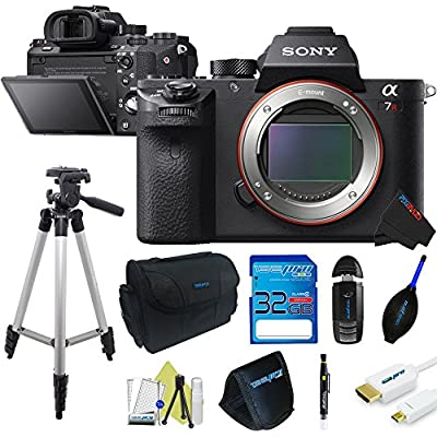 Sony Alpha a7R II iLCE-7RM2 Full-Frame Mirrorless Interchangeable Lens Camera (Body) + Pixi-Basic Accessory Bundle