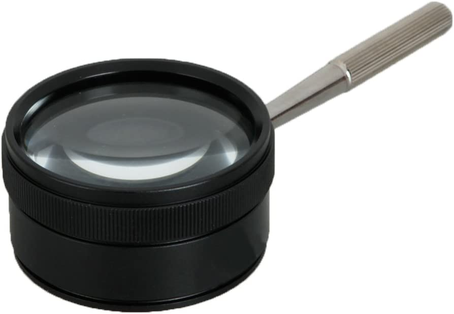 35X Handheld Hand Held Magnifier Magnifying Glass Jewelry Jeweller Loupe Loop with Handle