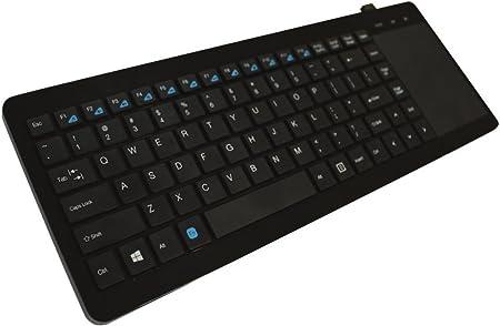 Approx APPKBTV02 - Teclado Wireless para Smart TV, Color Negro