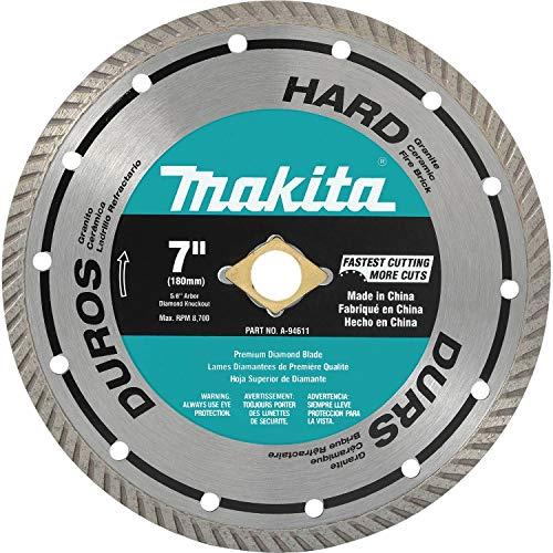 Makita A-94611 7-Inch Turbo Rim Diamond Masonry Blade