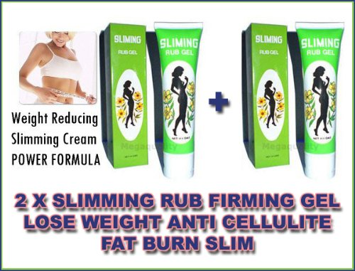 2 X Slimming RUB Firming GEL Lose Weight Anti Cellulite Fat Burn Slim Made From Thailand