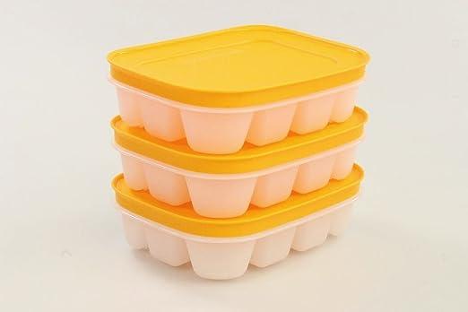 Tupperware (3) Mini eiswürfler Congelador recipiente cubitos de ...