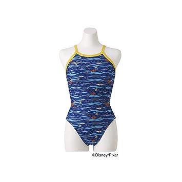 5e70b74899c MIZUNO(ミズノ) 競泳水着 トレーニング用 レディース ミディアムカットファインディングニモ N2MA928827 サイズ:
