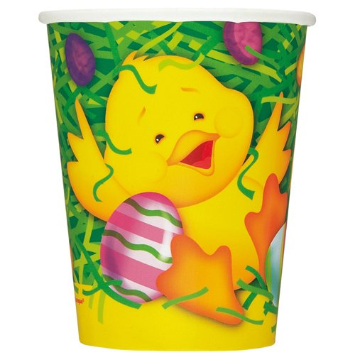 - Unique Easter Ducky Paper Party Cups, 8 Ct.