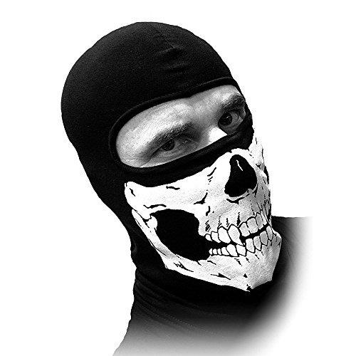 Schampa Skull Balaclava - Schampa Lightweight Skull Balaclava (Traditional) by Schampa