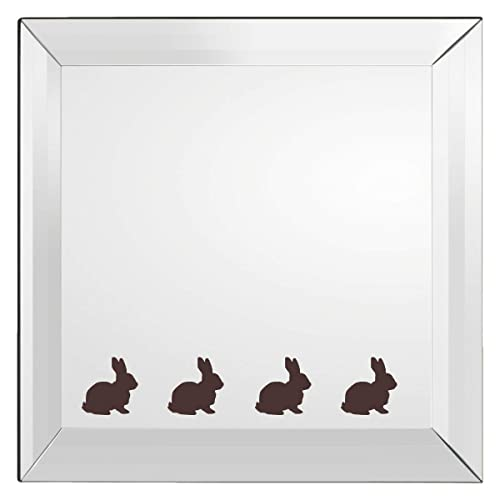 Wall Mirror Window 20 x Easter Bunny stickers Crafting Scrapbooking Cardmaking