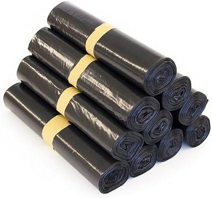 Schwarz  Abfallsäcke und Müllsäcke MÜLLBEUTEL TYP 60-120 Liter 500 x PE