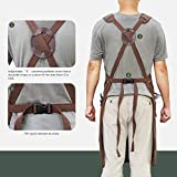 Tipkits Woodworking Apron with 9 Tool Pockets, Work