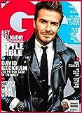 GQ Magazine (April, 2016) David Beckham Cover