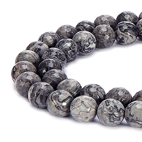 BRCbeads Natural Gemstone Faceted Crystal
