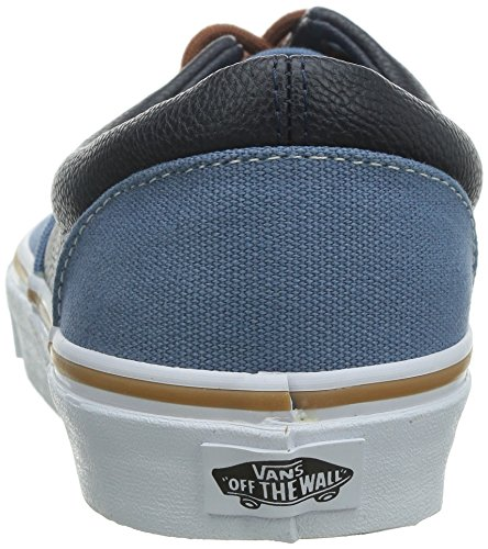 Era Navy Shoe Coronet Blue Vans Plaid Leather Skate Unisex Oq8wF5f