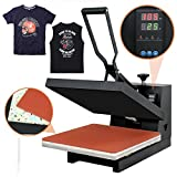 "Best T-Shirt Heat Presses - Super Deal 15"" X 15"" Digital Heat Press Review"