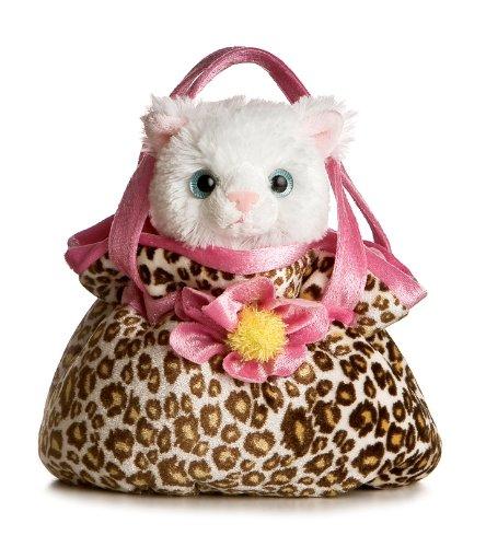 Aurora World Fancy Pals Plush Pretty Kitty Pet Carrier ()