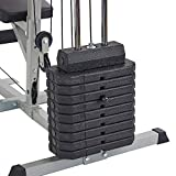 Sporzon Home Gym System Workout Station with 330LB