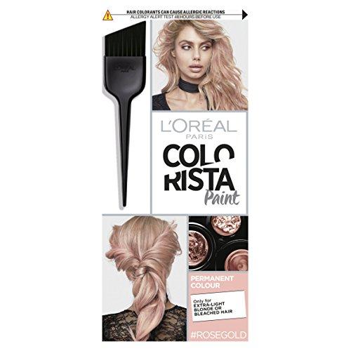 L'Oreal Paris Colorista Paint Rose Gold Permanent Hair Dye 60ml