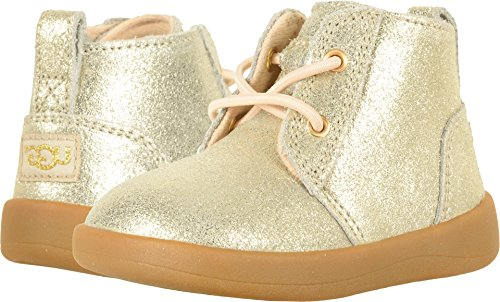 UGG Kids Baby Girl's Kristjan Metallic (Infant/Toddler) Gold Shoe