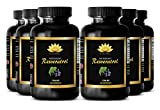 Product review for Prostate support - PURE RESVERATROL SUPPLEMENT 1200 mg - Pomegranate health - 6 Bottles 360 Capsules