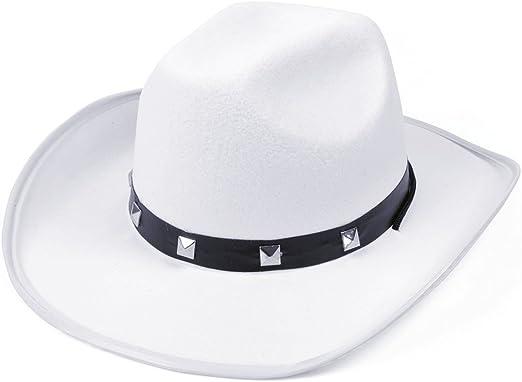 White Adult Cowboy Hat