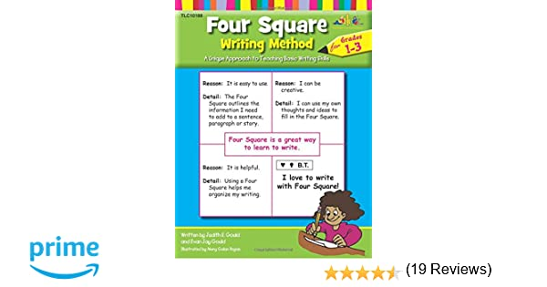 Amazon Four Square Writing Method A Unique Approach to – Four Square Writing Worksheets