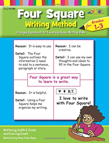 Four Square Writing Method : A Unique Approach to Teaching Basic Writing Skills for Grades 1-3 (Free Book Writing Software)