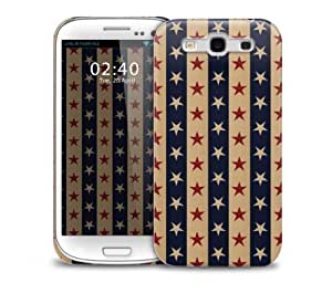 Vintage Star Pattern Samsung Galaxy S3 GS3 protective phone case
