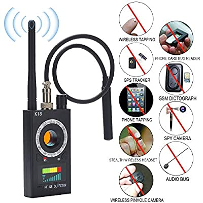RF Detector Bug Detector, Anti Spy Detector , RF Signal Detector,GSM GPS Tracking Finder, Radio Scanner Wireless Signal Detector Alarm, Hidden Camera Detector: Home Audio & Theater