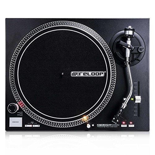 Reloop RP DJ Tocadiscos, Negro