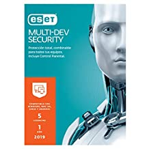 ESET Multidevice Security v12 2019, 5 Licencias